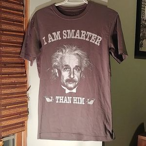 Einstein graphic tee